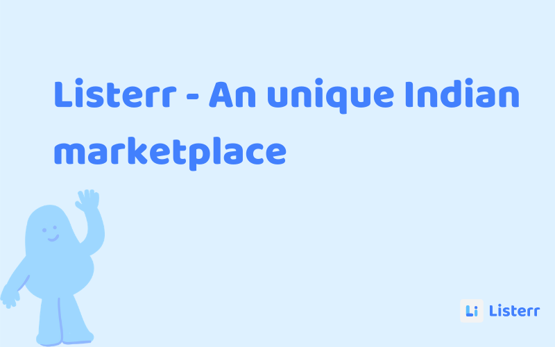 An Indian marketplace for sellers and buyers.