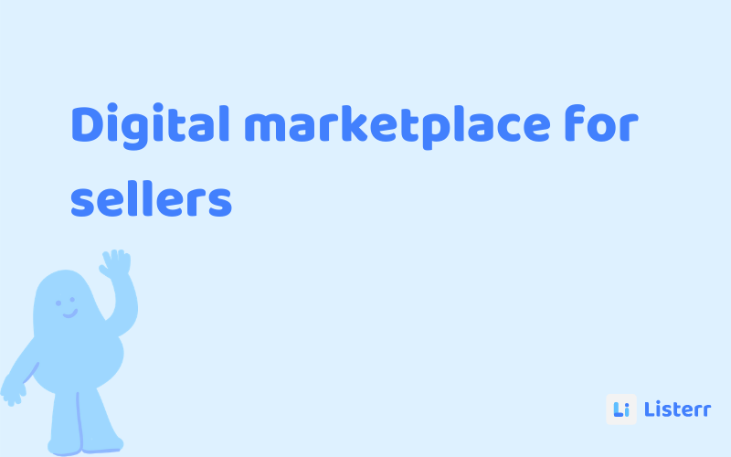 An online marketplace for sellers
