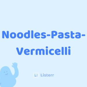 Noodles-Pasta-Vermicelli